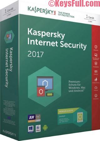 Kaspersky Internet Security 2017 Final Activation Code Download