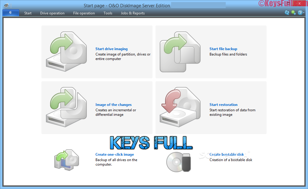O&O DiskImage Server 11.0 Crack + Keygen Free Download
