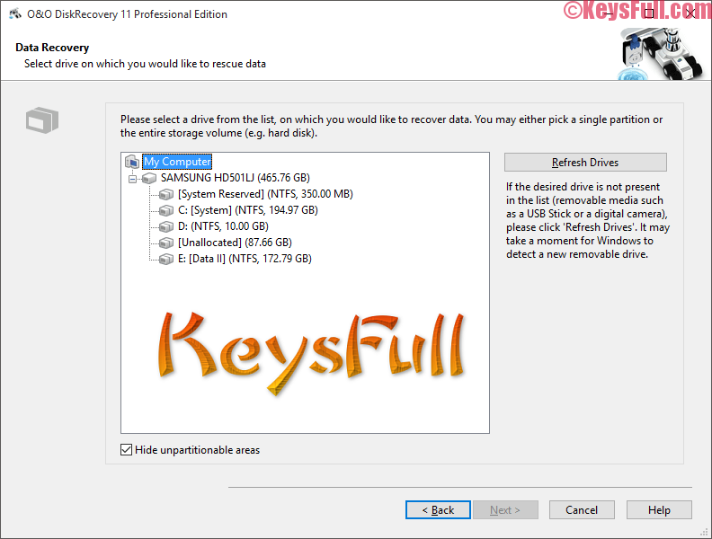O&O DiskRecovery Professional 12.0 Full Keygen is here!