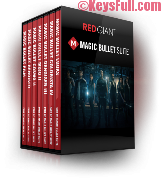 Red Giant Magic Bullet Suite 13.0.3 Serial Number 2017