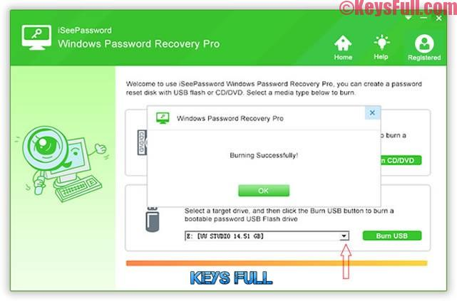 iSeePassword Windows Password Recovery Pro 2.6.2.2 Crack Full Version