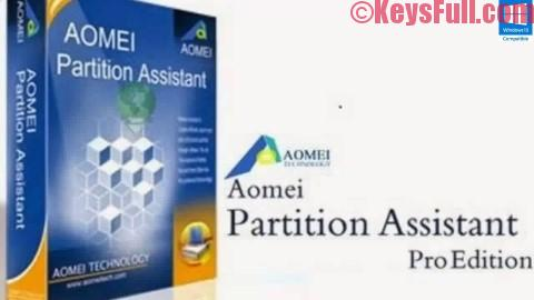 AOMEI Partition Assistant Professional Edition 6.3 Crack