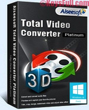 Aiseesoft Total Video Converter Platinum 9.2.10 Crack + Registration Code