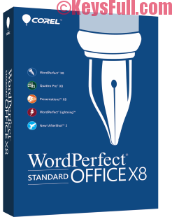 Corel WordPerfect Office X8 18.0.0.200 Full Crack