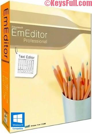 EmEditor Professional 17.1.2 Crack + Registration Key