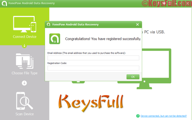 FonePaw Android Data Recovery 2.1.0 Registration Code