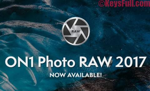 ON1 Photo RAW 2017 11.1.0 Crack Free Download