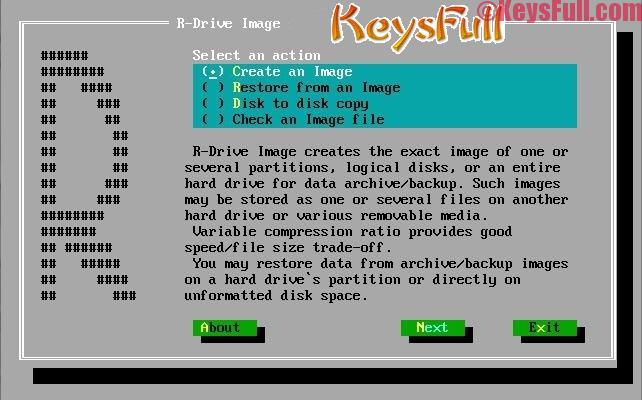 R-Drive Image 6.1 Crack + Keygen Free Download