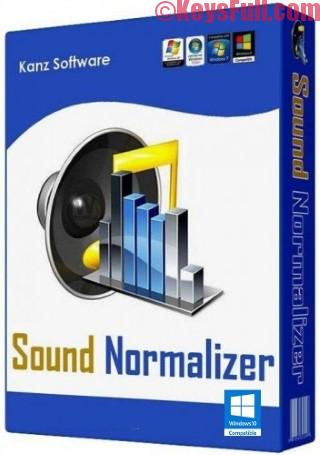 Sound Normalizer 7.9 Crack + Serial Key is Here!