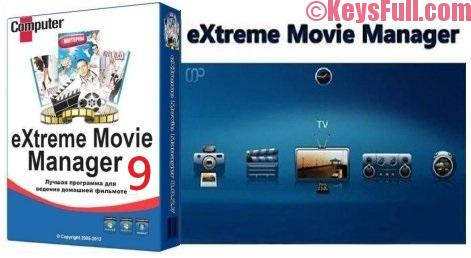 eXtreme Movie Manager 9.0.0.9 Crack + Keygen