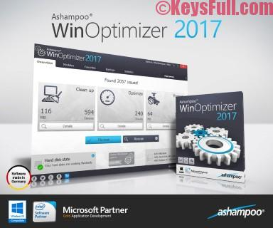 Ashampoo WinOptimizer 2017 15.00 Crack + Key is Here