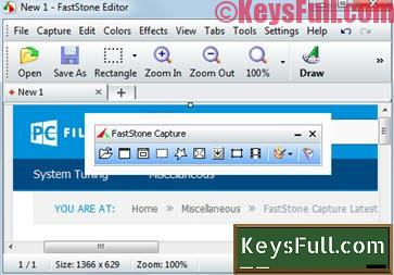 FastStone Capture 8.5 Serial Key Portable is Here