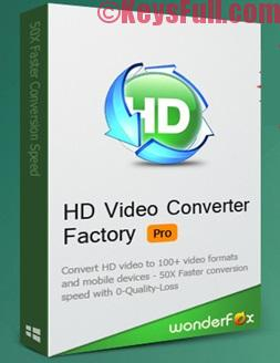 HD Video Converter Factory Pro 14.2 Crack + Serial Key