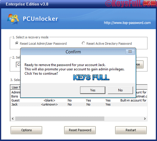 PCUnlocker WinPE 3.8.0 Enterprise Edition Crack is Here