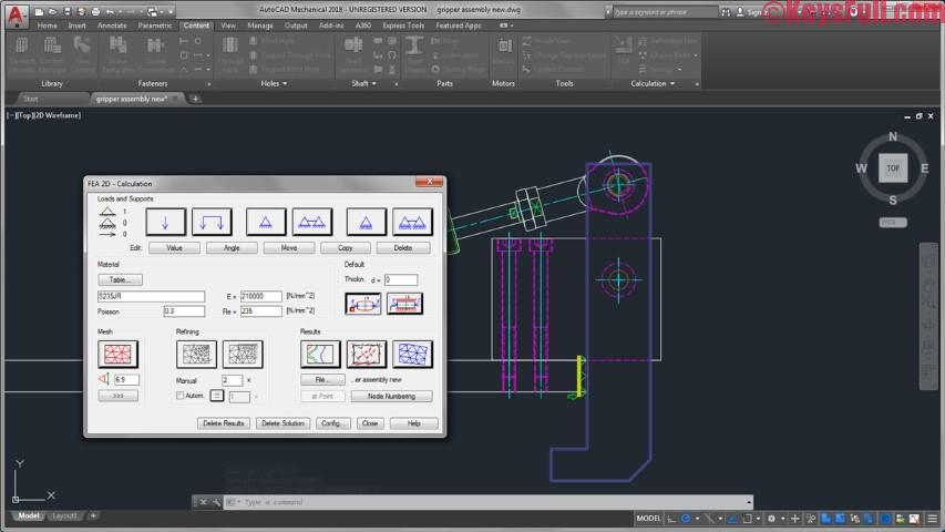 AutoCAD Mechanical 2018 Crack Full Version