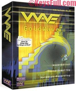 GoldWave 6.28 Crack + Key + Keygen is Here
