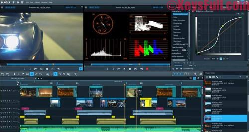 MAGIX Video Pro X8 Full Version Crack Available Now