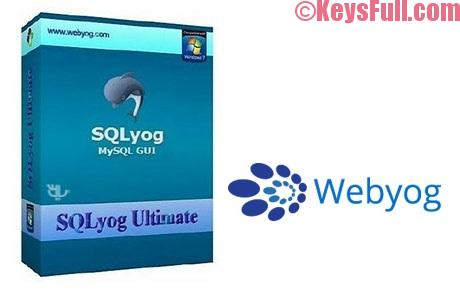 Webyog SQLyog 12.4.3 Full Crack Free Download