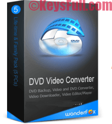 WonderFox DVD Video Converter 13.1 Crack + Keygen