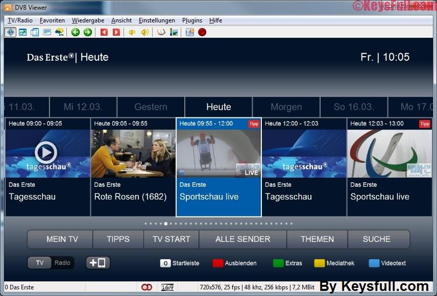 DVB Viewer Pro 6.0.2 Crack Portable Free Download