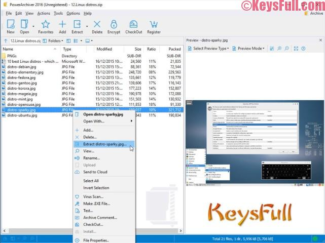 PowerArchiver 2016 16.10 Crack + Keygen Free Download