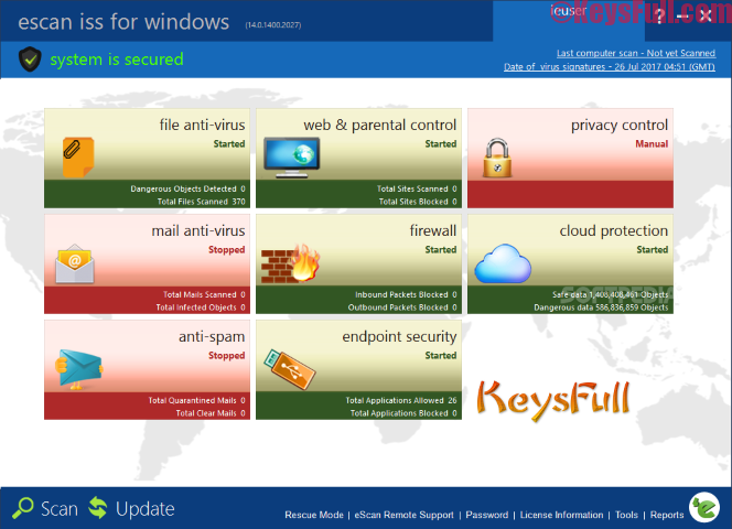 eScan Internet Security Suite 14.0 License Key is Here