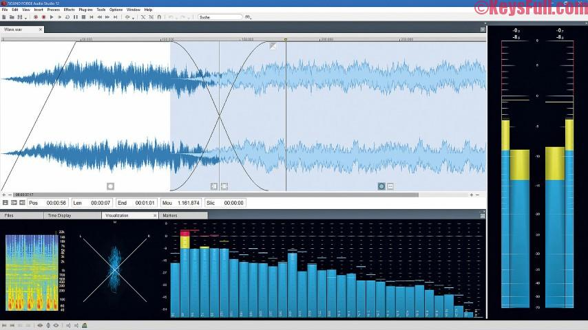 MAGIX SOUND FORGE Audio Studio 14.0 Crack + Keygen