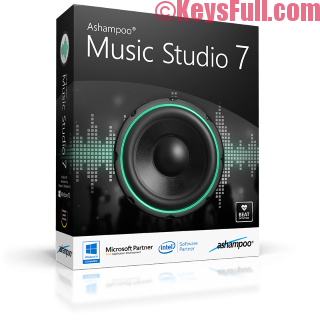 Ashampoo Music Studio 7.0.1.6 Crack + Serial Key