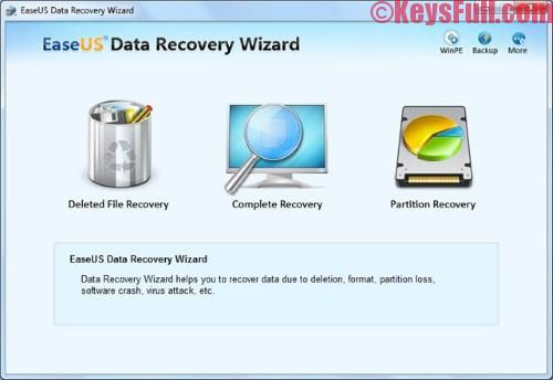 EASEUS Data Recovery Wizard Professional 11.6 License Key