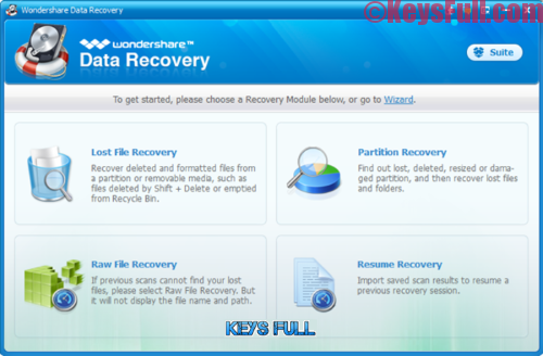 Wondershare Data Recovery 6.5.1.5 Crack With Serial Key
