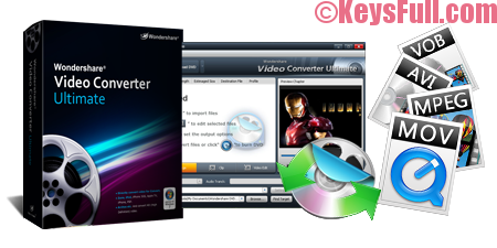 Wondershare Video Converter Ultimate 10.0.10 Full + Crack