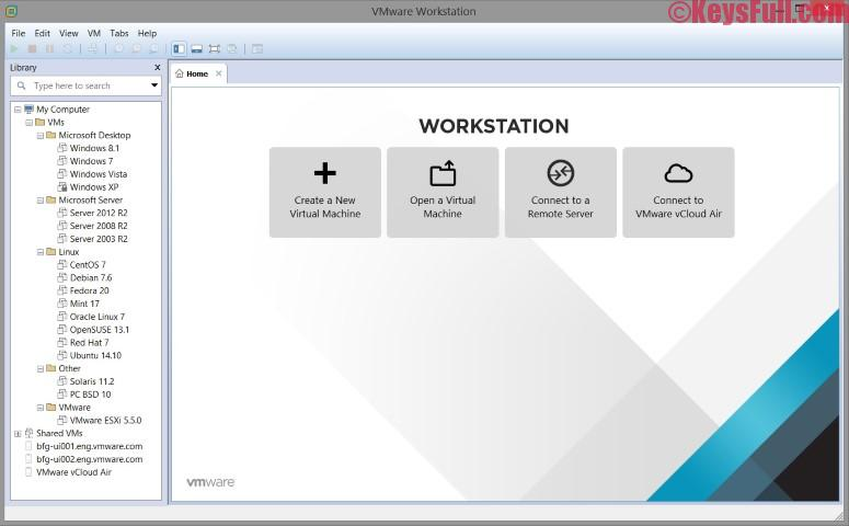 VMware Workstation Pro 14.0.0 Crack Serial Key