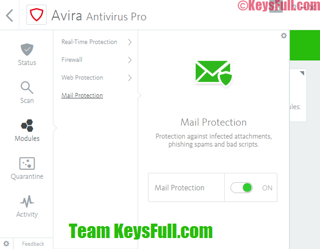 Avira Antivirus Pro 2020 v15.0 Crack + License File