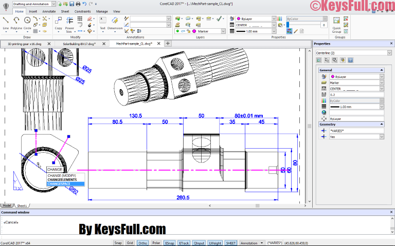 CorelCAD 2017.5 Crack Full Keygen (Win-Mac)