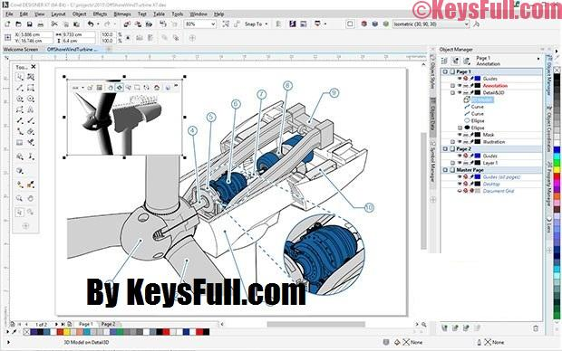 CorelDRAW Technical Suite 2017 19.1.0 Full Crack + Keygen