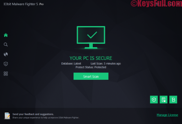 IObit Malware Fighter PRO 5.4.0 Serial Key Full Version