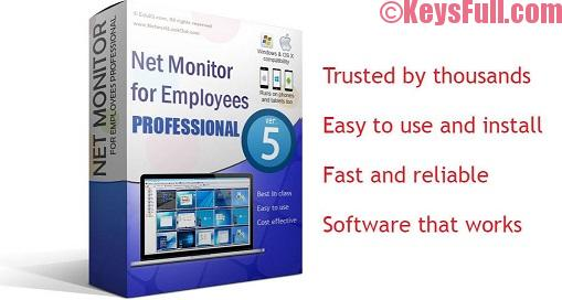 Net Monitor for Employees Pro 5.5.5 License Key