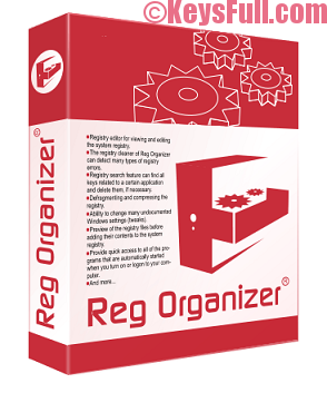 Reg Organizer 8.04 Crack + License Key 2018
