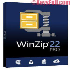 WinZip 22.0 PRO Crack + Serial Key 2018