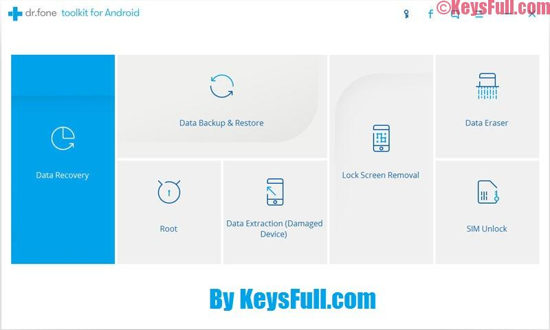 Wondershare Dr.Fone For Android 9.0.0 Registration Code