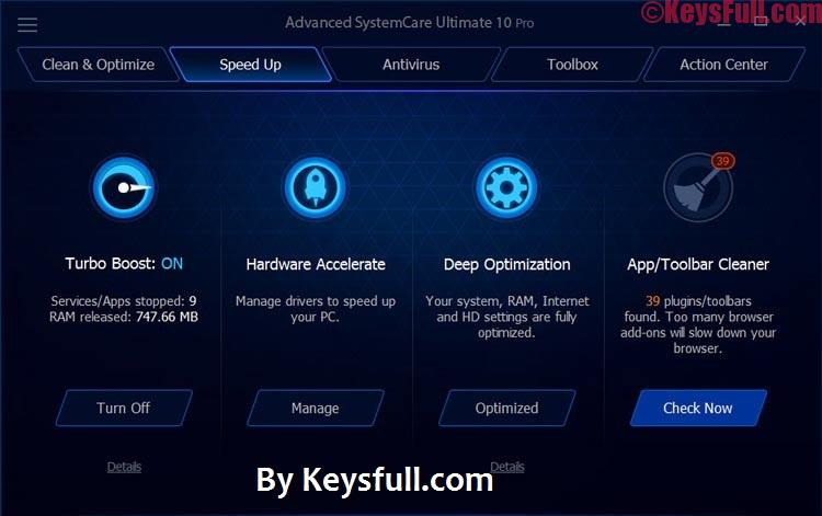 Advanced SystemCare Ultimate 11.0.1.56 Final Crack