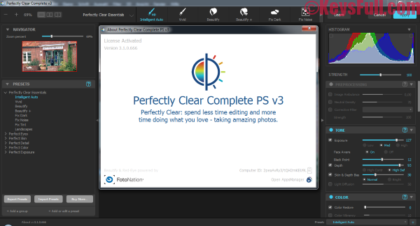 Athentech Perfectly Clear Complete 3.5.5.1132 Full Crack