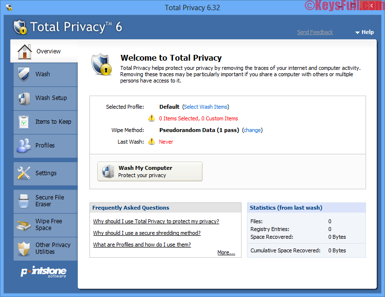 Pointstone Total Privacy 6 Crack + Portable