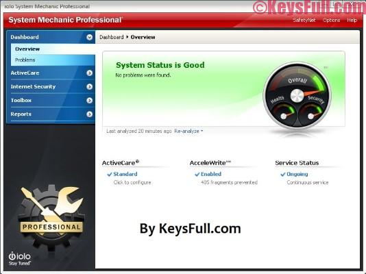 System Mechanic Pro 17 Crack Full Version