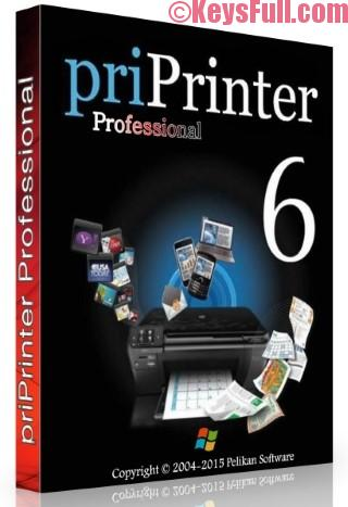 priPrinter Professional 6.4.0 Crack + Serial + Keygen