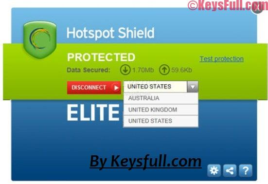 Hotspot Shield VPN Elite 7.20.9 Crack 2018