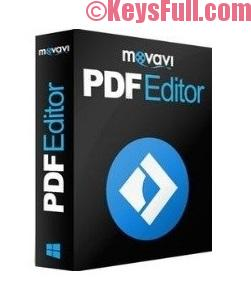 Movavi PDF Editor 1.2 Crack + Activation Code