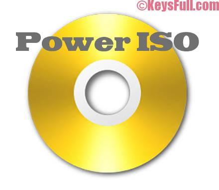PowerISO 7.1 Full Crack + Serial Key