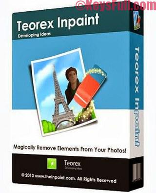 Teorex Inpaint 7.2 Serial Key Full Version