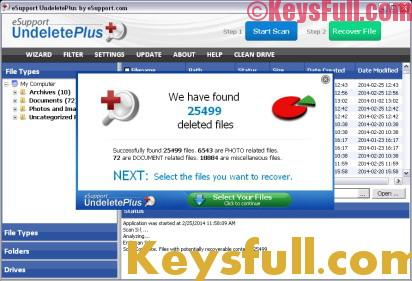 Undelete Plus 3.0.8 Crack + License Key 2018